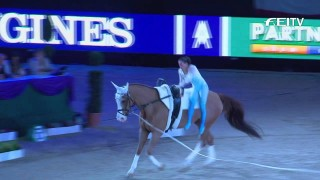 Vaulting 2014/15 – Leipzig – Top 3 Female