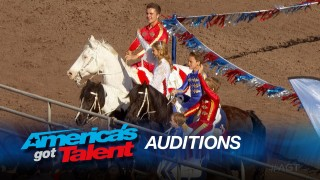 Wild West Express – America's Got Talent