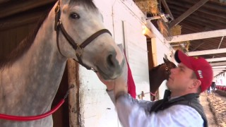 Morning with Trainer Norman Casse