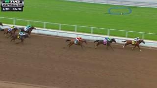 California Chrome – Wins San Pasqual Stakes