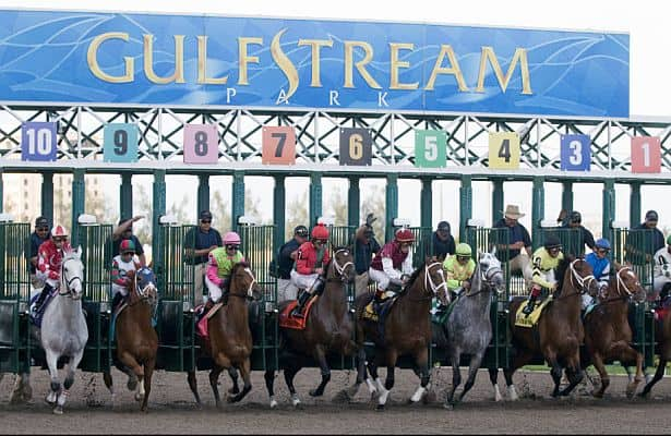 Gulfstream Park Horse Racing Live Total Horse