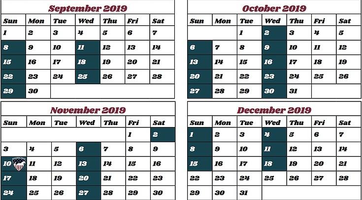 Rosecroft Raceway Fall 2019 Racing Schedule